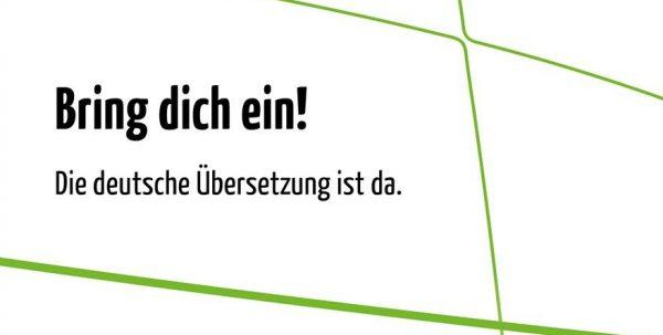 Die deutsche Übersetzung der Jugendsynode ist da.