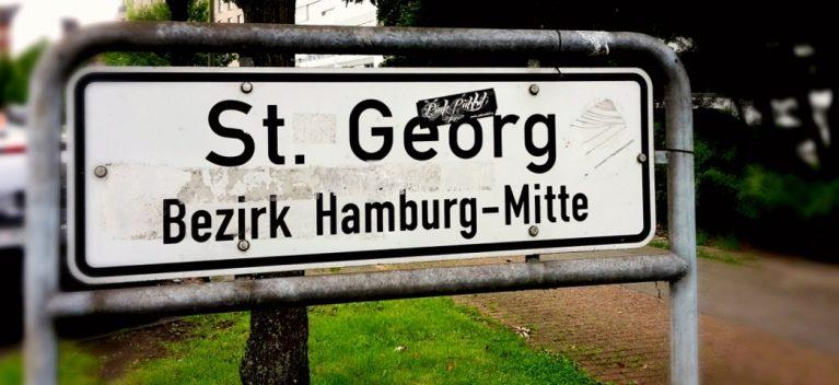 St. Georg ist bunt
